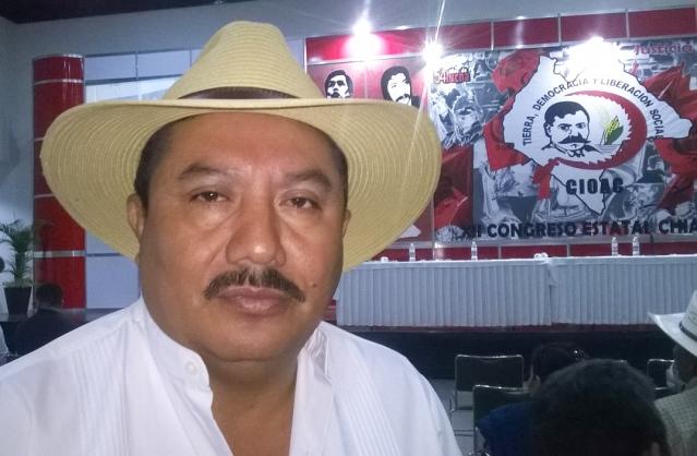 Corazon Gomez Consuegra de la CIOAC
