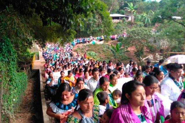 Indígenas de Chiapas denuncian