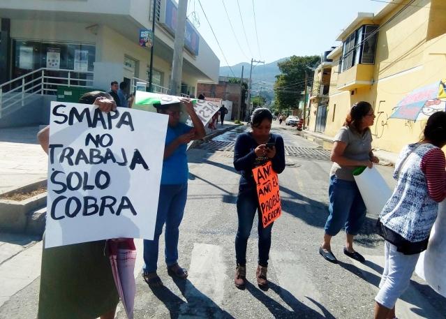 protesta pública