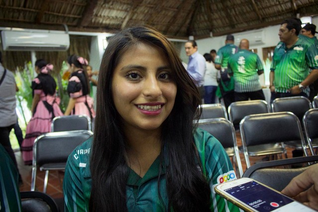 La marchista Tamara Gomez motivada para el 2018