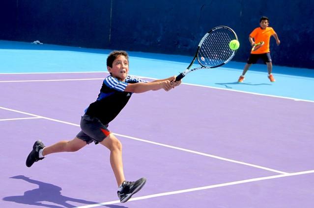 Intenso fin de semana en el selectivo estatal de Tenis