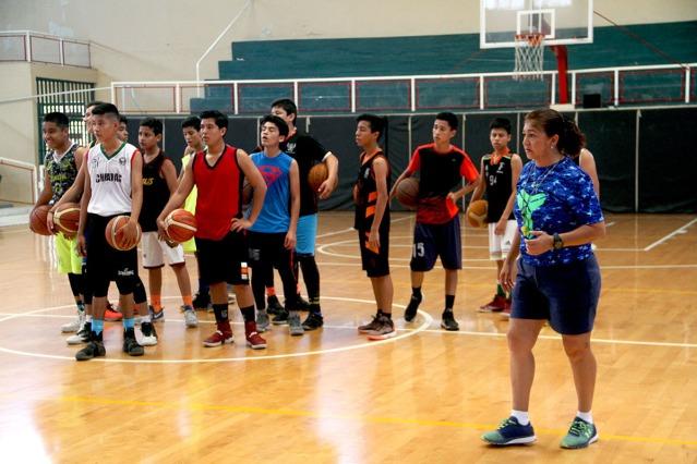 El filtro de basquetbol se realizo en el auditorio municipal