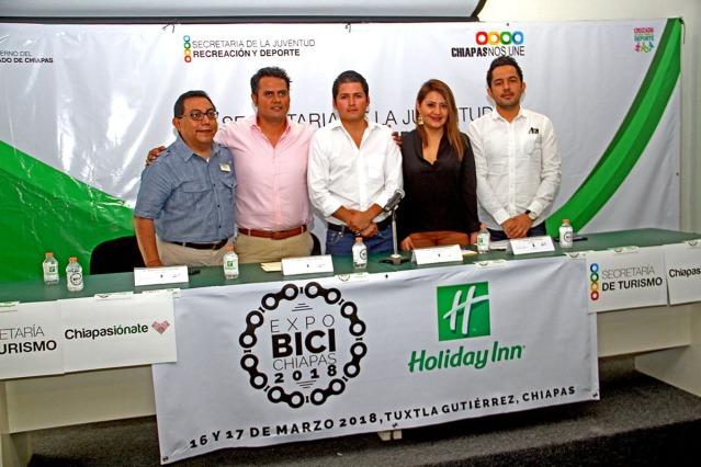 Presentaron Expo Bici a celebrarse en Tuxtla