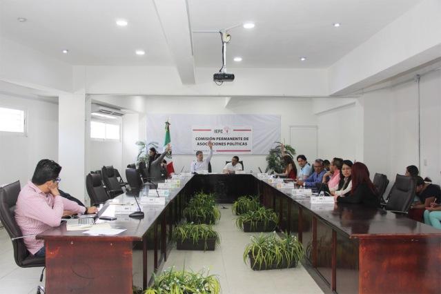 Sesión Asociaciones Políticas 220218