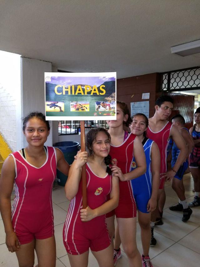 Chiapas con excelentes resultados en el Campeonato Zonal de Luchas Asociadas (3)