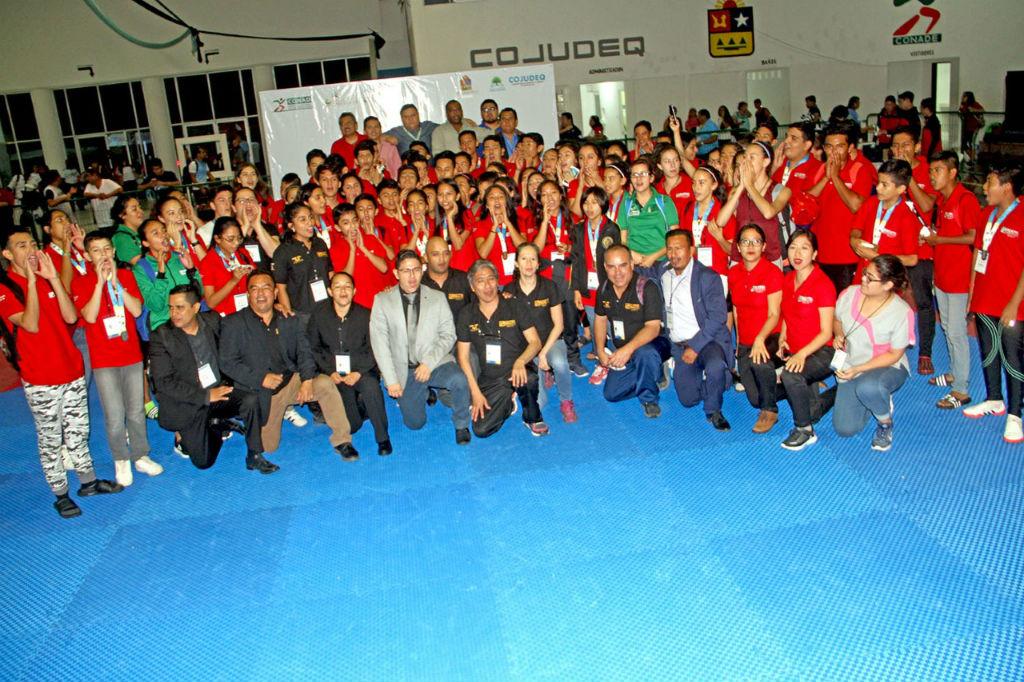Clasificados de Taekwondo a la OyNJ 2018