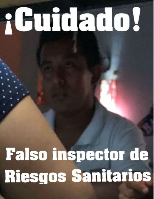 FALSO INSPECTOR