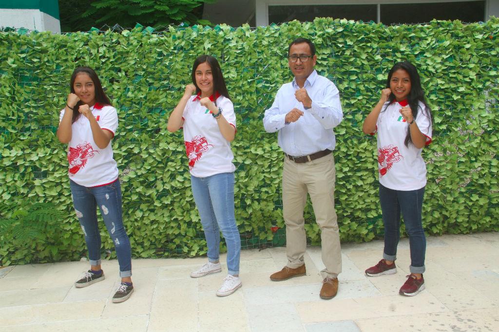 Chiapas con tres seleccionadas nacionales en wushu