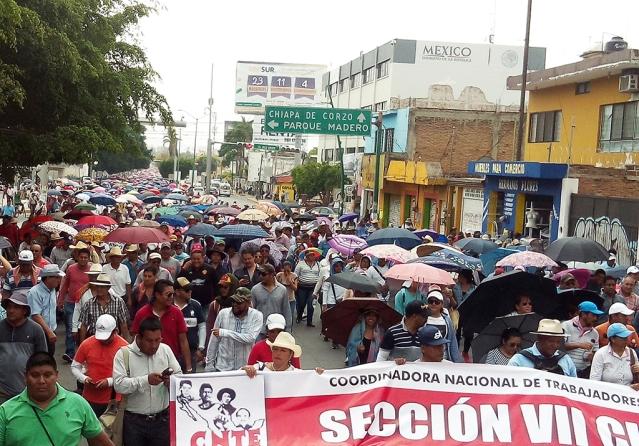 CNTE lista para el paro nacional