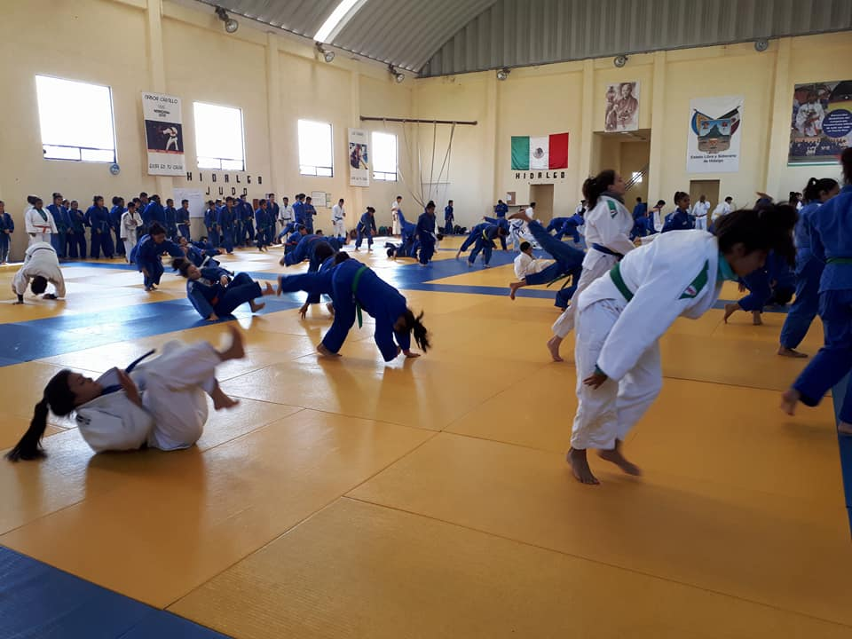 Equipo de judo realiza concentracion en Queretaro (3)