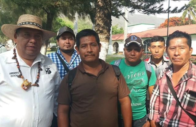 Habitantes de zona Zapatista