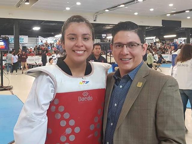 Sofia Velazquez gana oro Glimer de Leon