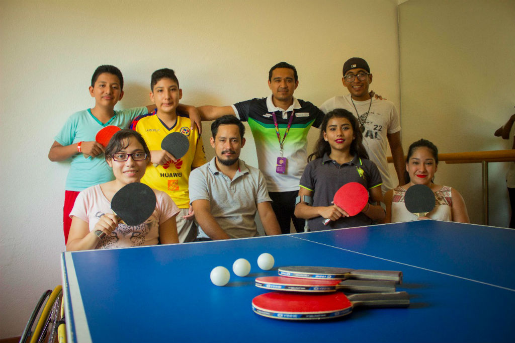 Atletas de tenis de mesa se preparan para la Paralimpiada Nacional 2018 (3)