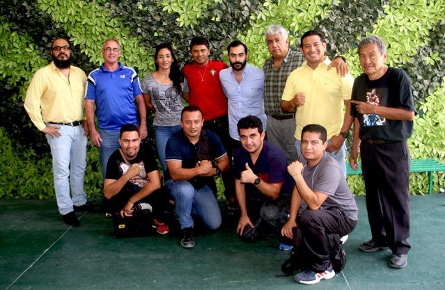 SJRyD y la Asociacion Chiapaneca de Boxeo comienzan con los trabajos de cara a la Olimpiada y Nacional