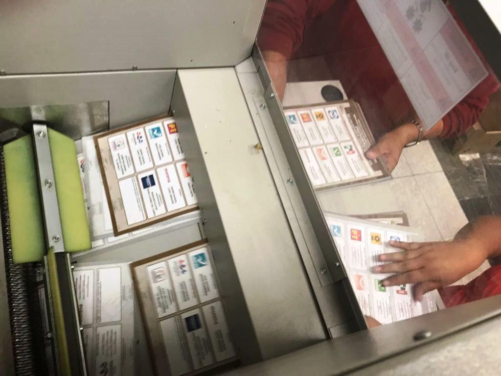 Destrucción papelería electora