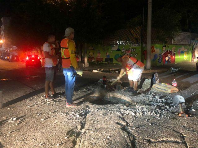 Refuerza Carlos Molano programa permanente de mantenimiento de drenajes en la ciudad