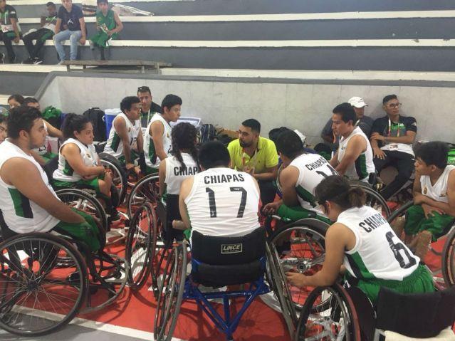 Chiapas finaliza con una medalla de bronce en basquetbol juvenil de la Paralimpiada Nacional 2018
