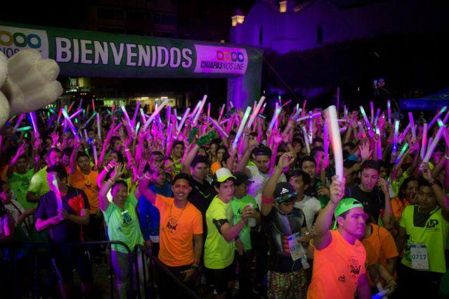 Presentaron la carrera Neon Night Run