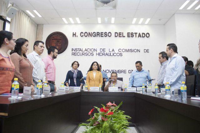 Instalación Comisión de Recursos Hidraúlicos jmc8